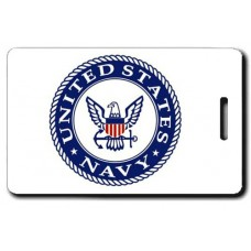 USN Logo with Air Crew Wings  Luggage Tag