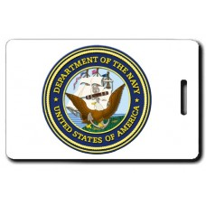 USN Seal Luggage Tag