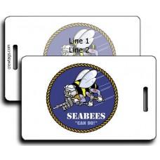 SeaBee Logo Luggage Tags