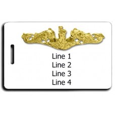 USN Subsurface Warfare Officer  Luggage Tag