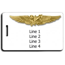 Naval Supply Corps Luggage Tag