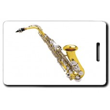 ALTO SAX LUGGAGE TAGS