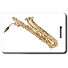 BARITONE SAX LUGGAGE TAGS
