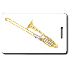 Bass Trombone Luggage Tags