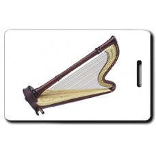 Pedal Harp Luggage Tag