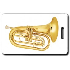 Marching French Horn Luggage Tag