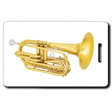 MARCHING TROMBONE LUGGAGE TAGS