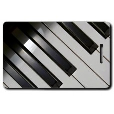Piano Luggage Tag