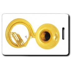 Sousaphone Luggage Tag