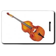 String Bass Luggage Tag