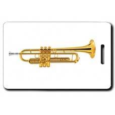 Trumpet Luggage Tag