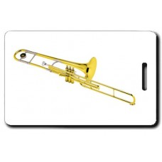 Valve Trombone Luggage Tags
