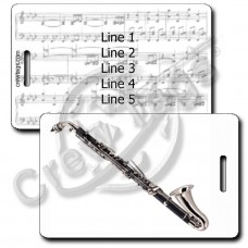 ALTO CLARINET LUGGAGE TAGS