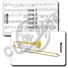 ALTO TROMBONE LUGGAGE TAGS