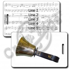 HANDBELL LUGGAGE TAG