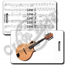 MANDOLIN LUGGAGE TAGS