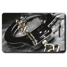 Handcuff And Key Luggage Tag
