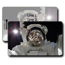 ASTRONAUT LUGGAGE TAGS