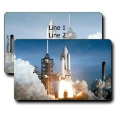 SHUTTLE LAUNCH LUGGAGE TAGS